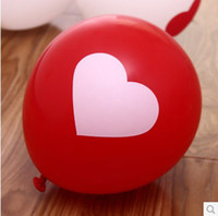 Wholesale Cheap quot Heart Printed Arch Decoration Balloon Promotional Balloon Personalized Wedding Balloons Q1408