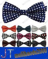 Wholesale Hot Sale New Mens Bowties men s ties men s bow ties men bow tie pure color bowtie Star Check Polka Dot Stripes MYY836