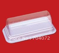 Wholesale Swiss Roll box cupcake case gift cake box plastic muffin cake roll cake boxes