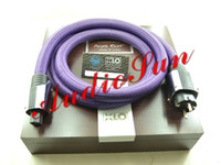 Wholesale XLO Purple Rush HIFI EU AC Audiophile Power cable M EU VER original wooden box