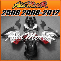 Wholesale Addmotor Injection Mold Fairing For Kawasaki EX R EX250R EX R Red White Black K2552 Free Gifts