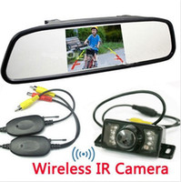 Wholesale Wireless Car Rear View PARKING System Backup Reverse led Camera inch TFT LCD Monitor