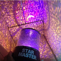 Wholesale Star Light Iraqis Color Changing LED Flash Projector Projection Star Projector Lamp LED Night light lantern