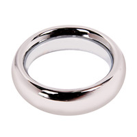 """Steel Male  1X 1.75"""" Stainless Steel Cock Ring J5173-1"""