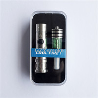 Double Green Glass DHL free Innokin Cool Fire 1 E Cigarette with Iclear 30B Clearomizer Superior Fabulous Electronic Cigarette Series for Sale