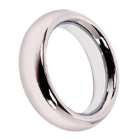 """Steel Male  1X 2"""" Stainless Steel Cock Ring J5173-2"""
