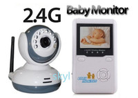 Wholesale 2 quot TFT Wireless Digital Baby Monitor IR Video Talk one Camera Night Vision video Baby Monitor new arrival