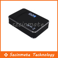 Receivers DVB-S  Free shipping USB Digital Satellite DVB-S TV Tuner Receiver Box Wholesale