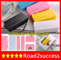 Wholesale Battery power bank mAh Charger for iphone S S Galaxy S3 iPad Tablets Lipstick Design with Retail Box Fedex