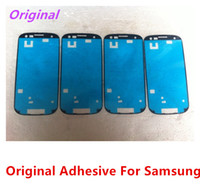 Wholesale Original Adhesive Glue For Samsung Galaxy S2 i9100 s3 i9300 s4 I9500 S5 Note Note N7100 Note N9000 S3 Mini S4 Mini Front Housing
