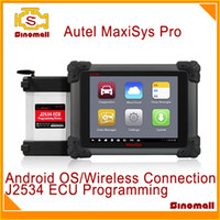 Wholesale 100 Original Autel MaxiSys Pro MS P Automotive Diagnostic Analysis System Android OS multi language update of DS708 DS MS908P