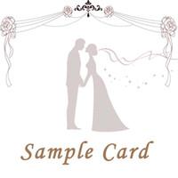 Wholesale Wedding Invitation Sample Card