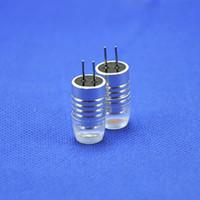 10pcs / lot G4 DC12V 1.5W 280 angle de faisceau blanc / chaud blanc / bleu / vert / jaune / rouge couleur facultatif G4 LED spot ampoules