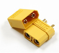 Wholesale 500PAIR rc plug battery XT90 gold plated connectors with male female jacks for lipo battery