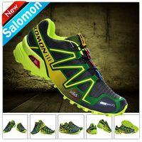Wholesale 2014 Hot Solomon Speedcross Running Shoes Men s France Walking Ourdoor Shoes Climashield Sport CS XT D wings