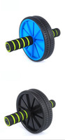 Wholesale Hot Abdominal Wheel Ab Roller With Mat For Exercise Fitness Equipment