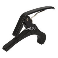 Wholesale 50 pieces Quick Change Folk Acoustic Guitar Trigger Change Capo Electric Guitar Banjo Trigger Capo