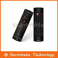 Wholesale MELE F10 USB G Wireless Remote Control Fly Air Mouse Keyboard Android TV Box