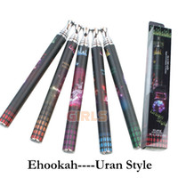 Cheap E-hookah Disposable Electronice Cigarettes e hookah portable e-shisha Pipes Sticks pen Premium Ehookah-C Uran Style Atomizer E Liquid