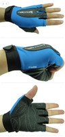 Wholesale Hot Sale Size M Outdoor Bicycle Cycling Half Finger Bike Gloves For Men amp Women Ultrathin Skid Resistant Gloves Sports Gym