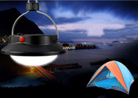 Wholesale 60LED Outdoor Camping Lamp with Lampshade Circle Tent Light Campsite Hanging Lamp