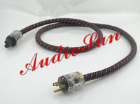 Cable ac power cord audio - 2Meter High End US Plug P Audio AC power Cable AC Mains cord