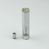 Adjustable stainless steel manufacturers - Electronic new ecigarette stainless steel stingray battery mechanical mod copper brass battery manufacturer TB015