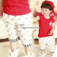 Casual Pants Unisex Summer Baby Pants Casual Wear Childrens Pants Toddler Clothing Summer Shorts Kids Casual Pants Baby Shorts Children Casual Pants Infant Clothes