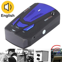 Wholesale Car Speed Testing System Detector Radar High Performance Degrees Full Band Scanning Built in Russian Voice Broadcast