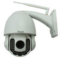 Wholesale New Sricam AP005 P Wireless IP Camera Outdoor Motion Night Vision Free DDNS Smartphone P2P IR CUT Waterproof F1083B