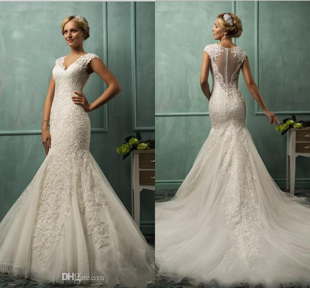 2015 Collection 9104 Mermaid Wedding Dresses For Bride