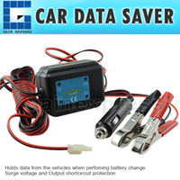 Wholesale E04 Car Data Saver V DC Hold Memory Code Engine Maintenance Radio Station Clock Setting