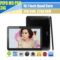 Under $300 PIPO 10 inch Pipo M9 PRO 3G 10.1 inch 2G 32G Android 4.2 WCDMA GPS Tablet PC Retina screen RK3188 10inch Quad core Tablet PC M9 3G Dual Camera Bluetooth