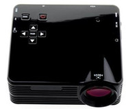 Wholesale Mini Lumens LED Projector Game x Pixels Support P with AV VGA SD USB HDMI Remote Control E9025A