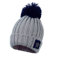 Wholesale 2014 Hot selling Fashion Unisex Women Men Star Knit Crochet Ski Knitted Winter Warm Hat Beanie Cap fx274