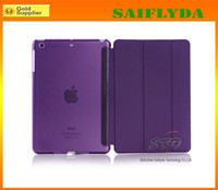 Wholesale Ultra Thin Magnetic Leather Smart Case Cover Back Cover For New Apple iPad Air For ipad ipad mini retina
