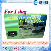 Умные собаки Отзывы-* 1 * Электронная собака Смарт собак в местах Pet фехтования система собаки забор системы собаки системы Trainning, Ву