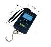 Digital Kitchen Scales  High Quality Portable Mini Electronic Digital Scale Hanging Fishing Hook Pocket Weighing Balance K07503