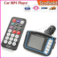 Wholesale 1 Inch Screen Car MP4 Player MP3 with Wireless FM Transmitter USB Jack SD MMC Slot