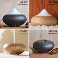 Wholesale Wood Grain Texture Aroma Diffuser Ultrasonic Air Diffuser Humidifier Purifier