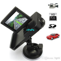 Wholesale P HD inch TFT LCD Car DVR Camera Video Recorder with Fully Automatic Intelligent Cycle Video Recording