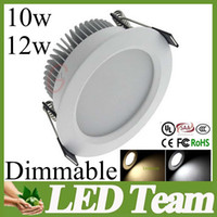 Wholesale Dimmable LED Downlight W W SMD5730 Dimming Ceiling Lamp Light Indoor Lighting Perfect looks Down Lamp CRI gt Years warrenty UL CE SAA