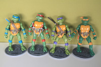 12-14 Years action figures vintage - Retail Vintage MOC Playmates TMNT Teenage Mutant Ninja Turtles Leonardo Action Figure set of