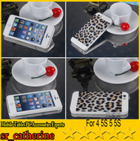 For Apple iPhone ABS+PC White NEW Motomo Hard Case Back Cover For iPhone 4 4S 5 5S S4 I9500 NOTE3 N9000 N9006 Leopard Tiger Zebra Print Design With retail packaging