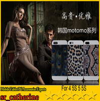 For Apple iPhone ABS+PC White 2014 NEW Motomo Hard Case Back Cover For iPhone 4 4S 5 5S S4 I9500 NOTE3 N9000 N9006 Leopard Tiger Zebra Print Design With retail packaging