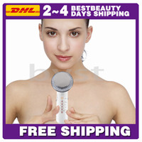 Skin Tightening, Skin Rejuvenation Face CE Free DHL Fast Shipping! Factory 2 Years Warranty 6-in-1 Electric Muscle stimulator & Microcurrent Slimming Machine(EMS)
