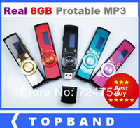 Wholesale Clearance New Arrival colors GB mp3 players FM radio Digital Screen MP3 Music Player GB USB Flash Drive