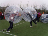 Wholesale 2pcs Amazing m inflatable bumperz bubble football inflatable bumper ball bubble football