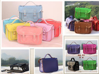 Wholesale Quality real cowhide leather Mini Messager satchel cream color crossbody bag