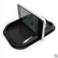 Wholesale Multi functional car Anti Slip pad Rubber Mobile Phone Shelf Antislip Mat For GPS MP3 IPhone Cell Phone Holder iphone samsung